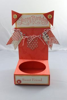 Cupcake holder I cased from Stamping with Frenchie