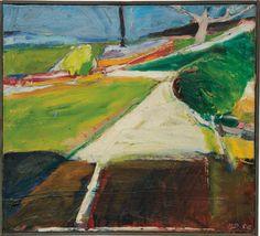 lawrenceleemagnuson:Richard Diebenkorn (USA 1922-1993)Driveway...