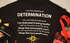 DETERMINATION UNISEX TEE #determination #motivational Tees #fitspiration #fitness addict #fitness clothes #gym #gym life #run #workout #gifts