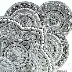 We love this mandala by @teena.kris. Check out and follow this amazing artist!  submit your mandala to be featured on this page by using the hashtag: # mandalala  #mandala #sacredgeometry #art #mandalaart #mandalalove #mandaladesign #doodleart #doodle #zentangle #zendoodle #zenspire #zen #meditation #handmade #art #instaart #love #beautiful #pretty #inspiration #ink #namaste #pattern #love #instagood #amazing #creative #picoftheday #tattoo #patterns #arttherapy #illustration