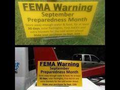 FEMA September 15 Warning Sign? - YouTube