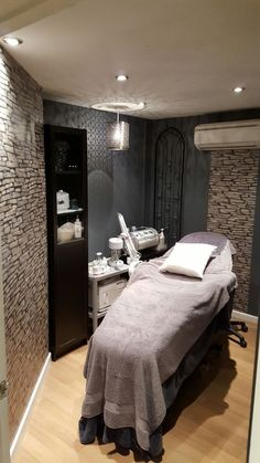Our treatment room where you can enjoy a lovely Dermalogica facial.