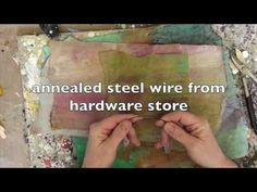Wax on Wednesdays Encaustic Holiday Ornaments ! - YouTube