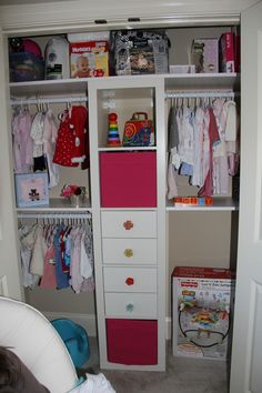Chapin Group Interiors - Nursery closet