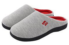 Women's Slippers - RockDove TwoTone House Slippers for Women Memory Foam Footbed w Indoor Outdoor Sole *** Continue to the product at the image link. (This is an Amazon affiliate link) Women's Slippers, Designer Clothing, Pool Slides, Waffle, Memory Foam, Amazing Women, Indoor Outdoor, Arch, Image Link