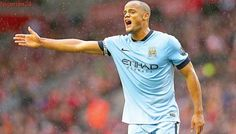 Kompany out of Man City's Liverpool clash
