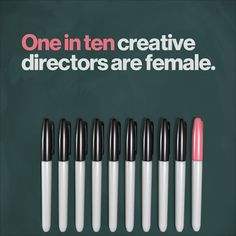 It's on all of us to fight gender inequality in the creative industry and beyond. Learn more about how you can help Right The Ratio.