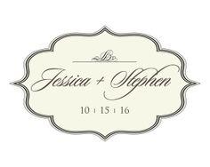 Custom Wedding Logo Design  Choose your own by ScriptureWallArt, $11.00