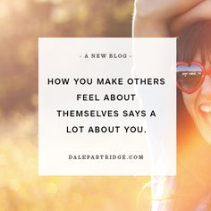 Dale Partridge, founder of Sevenly.  A profound read on the power of how we treat others.