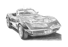 Chevrolet Corvette C3. Original for $160.
