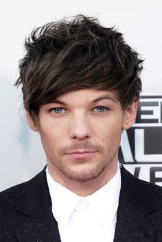 Louis Tomlinson on the 2015 American Music Awards red carpet