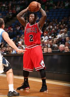 Nate Robinson Wears Black / Varsity Red Jordan Retro 6