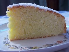 La Fiesta del Té: Torta húmeda de coco