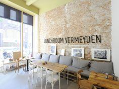 Lunchroom / shop interior Vermeyden Delicatessen . www.hekkenbergarchitects.nl