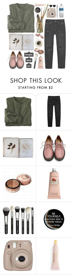 """""""- ̗̀ significant small talk  ̖́-"""" by harcoremarshmellow ❤ liked on Polyvore featuring Monki, FOSSIL, Retrò, Etude House, Crabtree & Evelyn, MAC Cosmetics, Fujifilm and AERIN"""