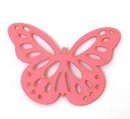 mini borboletas, borboleta de papel rosa, borboleta rosa, borboleta, borboleta de papel