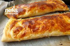 Sadece Süt Ve Unla Katmer Tarifi Hot Dog Buns, Hot Dogs, Kefir, Food And Drink, Canning, Breakfast, Recipes, Allah, Turkish Language