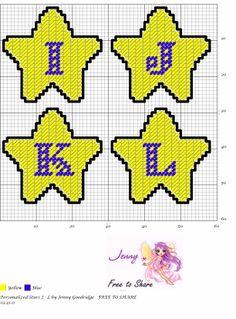Personalized Stars I-L