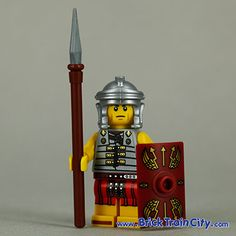 Roman Soldier - 8827 Lego Minifigures Series 6