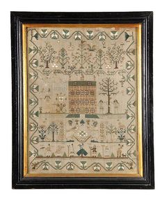 A George III needlework sampler, circa 1780