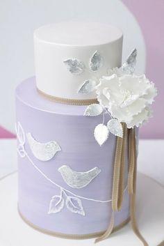 wedding cake mark liked the symbolism!