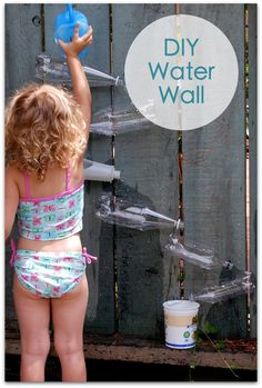 water wall - this would be fun!