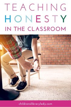 Explore books and resources for teaching honesty in the classroom, including picture books, short videos, activities and discussion questions. They will help your students think about the consequences of their actions and listen to their conscious. #kidsbooks #picturebooks #kidslit High School Classroom, Classroom Behavior, Elementary Teacher, Classroom Management, School Tips, School Resources, School Ideas, Feeling Pictures, Character Education Lessons