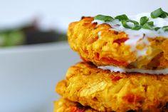 Cauliflower Chickpea Patties [Vegan] | One Green Planet
