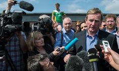 Enda Kenny urges Irish voters in Britain to back remain campaign as pro-EU group launches bid to mobilise Irish voters