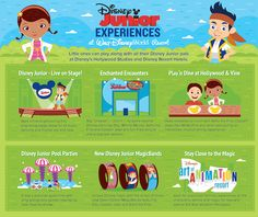 There's so much entertaining Disney Junior stuff for kiddos to do at Walt Disney World Resort.  Little ones love to see all their favorite Disney Junior characters like Sofia the First, Doc McStuffins and Captain Jake, and sing and dance to familiar tunes. Take a look at these playful tips to help you plan your next visit to Disney so you won't miss all the Disney Junior experiences around our world.