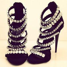 #guiseppezanotti  #guiseppe  #zanotti  #heels  #highheels  #shoes  #crystals  #bling #luxuryfashion  #fashion  #designer  #luxury