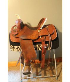 "14"" Black Rhino Barrel Saddle"