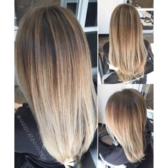 Hair By Jenny Amber - Costa Mesa, CA, United States. Balayage ombré /Color Melt.