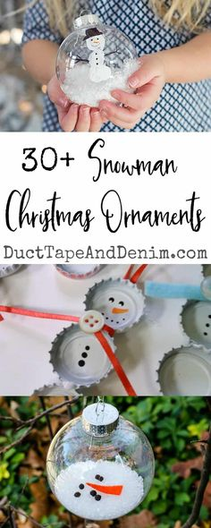 Easy Snowman Ornaments You Can Make For Christmas 30 Easy Snowman Ornaments You Can Make for Christmas Easy Diy Crafts easy diy christmas Easy Snowman Ornaments You Can Make for Christmas Easy Diy Crafts easy diy christmas ornaments Snowman Christmas Ornaments, Snowman Crafts, Christmas Crafts For Kids, Handmade Christmas, Holiday Crafts, Christmas Diy, Easy Ornaments, Diy Snowman Gifts, Preschool Christmas