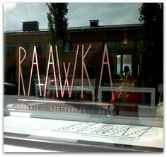 Raawka, Vaasa - Vegan, vegetarian and raw restaurant with lunch and desserts