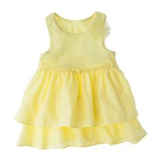 Cherokee® Infant Toddler Girls' Tiered Tank Top