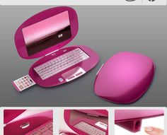96 Feminine Tech Finds  #19 Feminine Laptops  Nikita Buyanov Creates Girlie HP Designs (GALLERY)