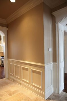 wanes coating, but don't over do it... Crown molding is a must