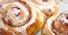 Recette de Cinnamon rolls ou pains roulés à la cannelle au Thermomix©. Facile et rapide à réaliser, goûteuse et diététique.