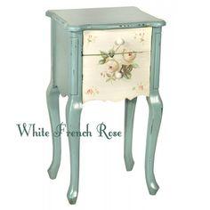 white french rose