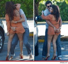 Kourtney Kardashian gets fingered by fiance in Miami. Hot or not?