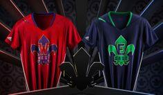 Maglie Nba 2014: adidas svela le divise per l'All-Star Game, le foto