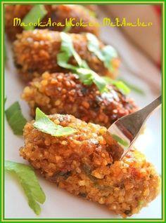 Vegetarische Libanese kibbeh - 50plusser.nl