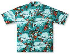 1306ce2b4 Aloha Republic Hawaiian Shirts From Aloha Shirt Shop | Aloha Republic Good  Reef! | AR