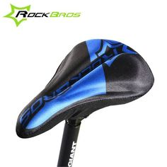 ROCKBROS MTB Bike Cycling Soft Breathable Saddle Bicycle Seat Cushion Cover 3 Colors  Worldwide delivery. Original best quality product for 70% of it's real price. Buying this product is extra profitable, because we have good production source. 1 day products dispatch from warehouse. Fast...
