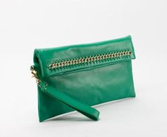 Allegra Clutch - Lagoon | Cuore and Pelle