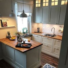 p/classicinterior-design-inredare-interiordesign - The world's most private search engine French Kitchen Decor, White Kitchen Decor, Home Decor Kitchen, Interior Design Kitchen, New Kitchen, Home Kitchens, Kitchen Dining, Small Kitchens, Small Kitchen Ideas On A Budget