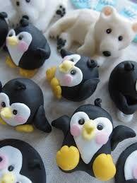 Resultado de imagen para pinguino porcelana fria