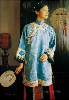Chen Yifei - Begonia
