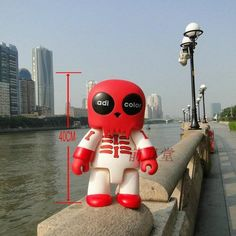 69.12$  Know more - http://airvz.worlditems.win/all/product.php?id=32753194950 - Wholesale Cheap Toys Original PVC Action Figures Bearbrick Big Size 45 Cm DIY Model Dolls Brand Gifts Dj035